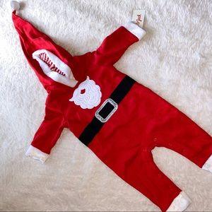 Baby boys Santa Claus romper size 6-9months